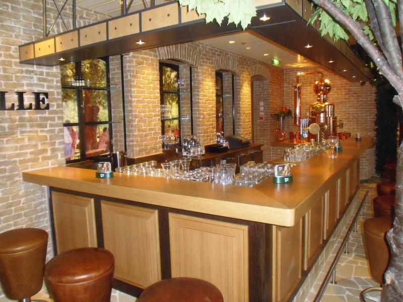 AIDAblu Restaurants und Bars