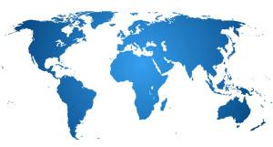 Weltkarte Reisen