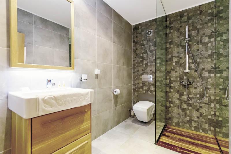 Badezimmer im Primasol Hotel Bulgarien