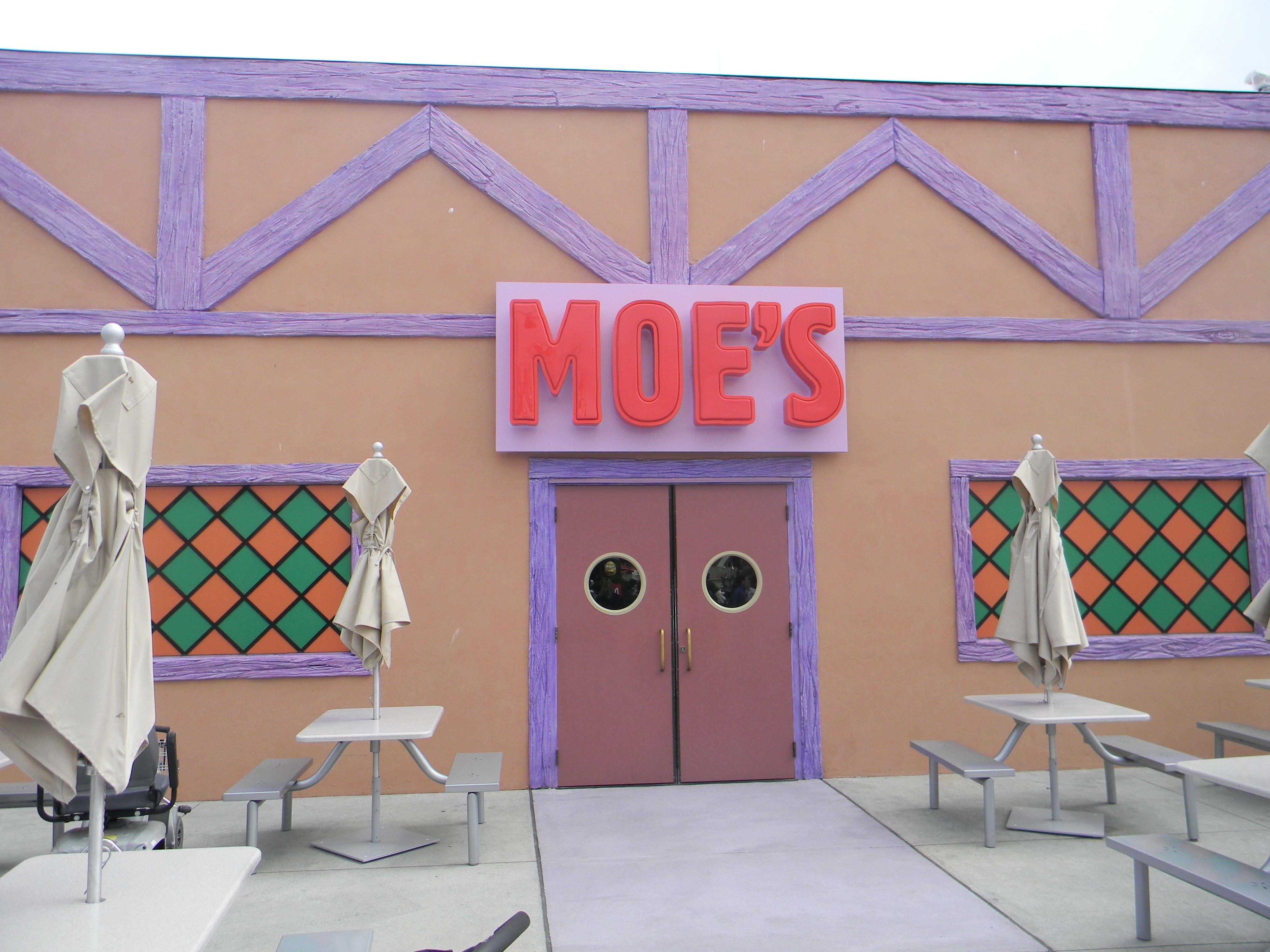 Moe´s Taverne in den Universal Studios Orlando