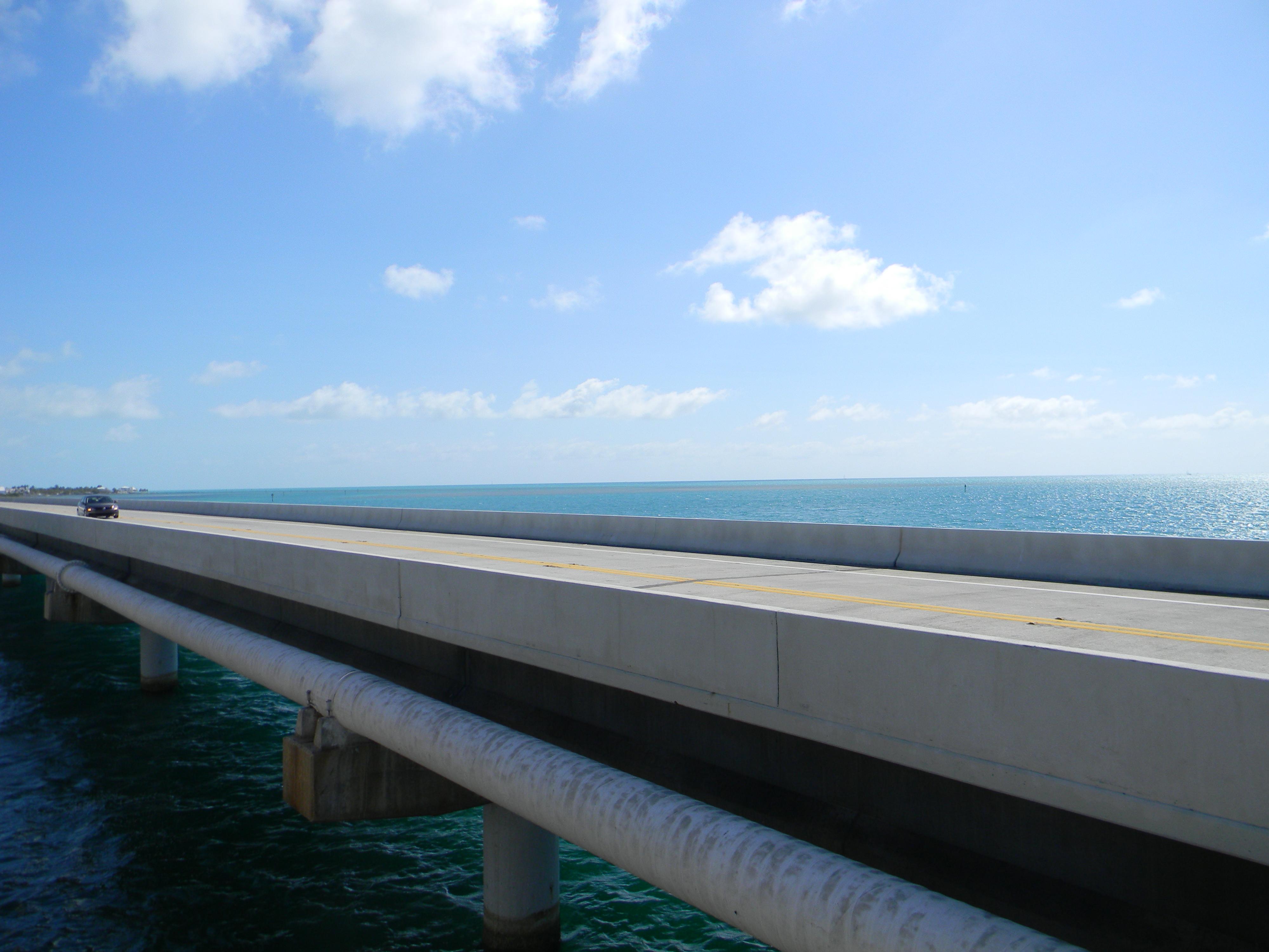Der Weg nach Key West führt über Brücken