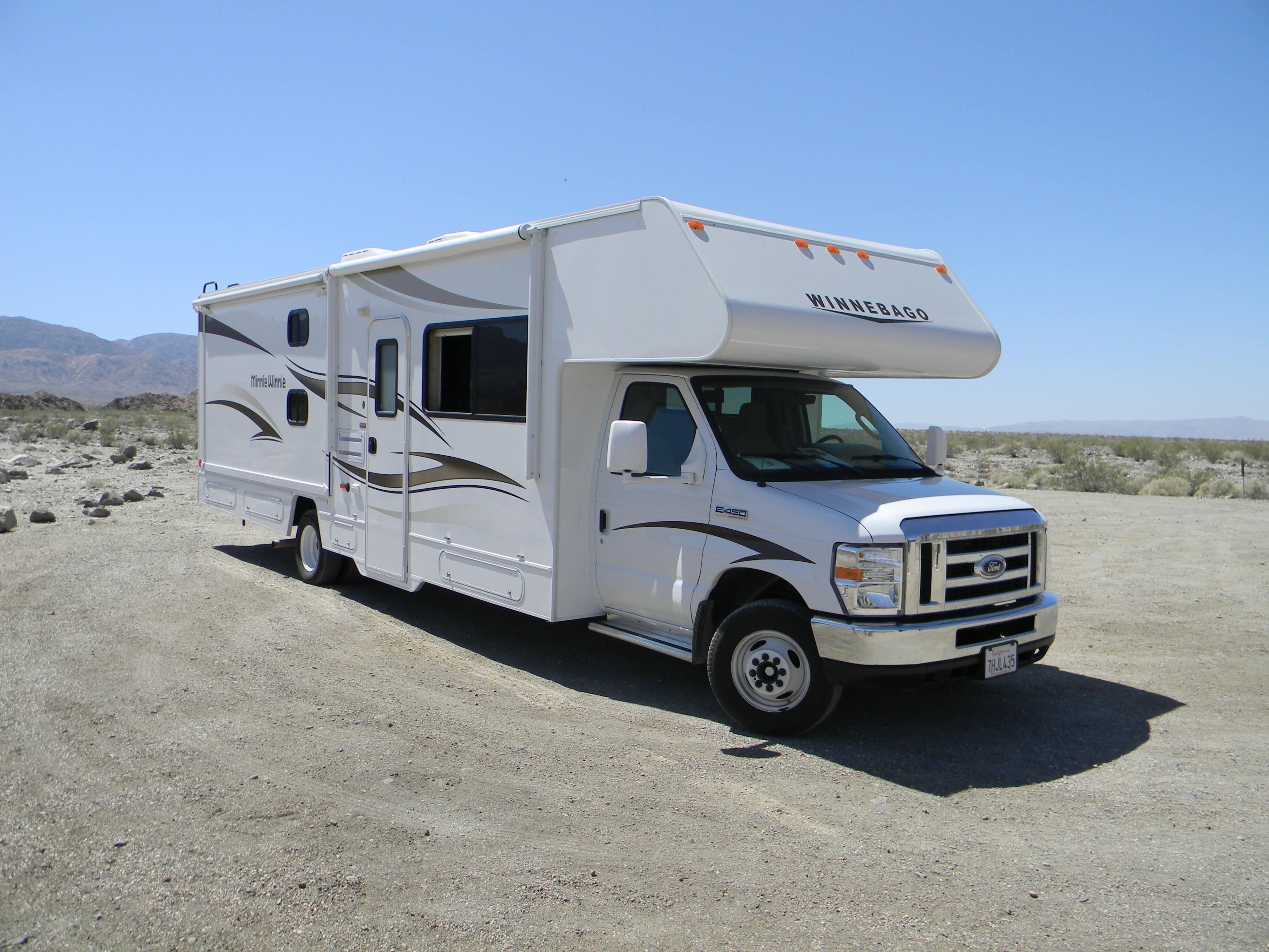 Wohnmobil im Death Valley National Park