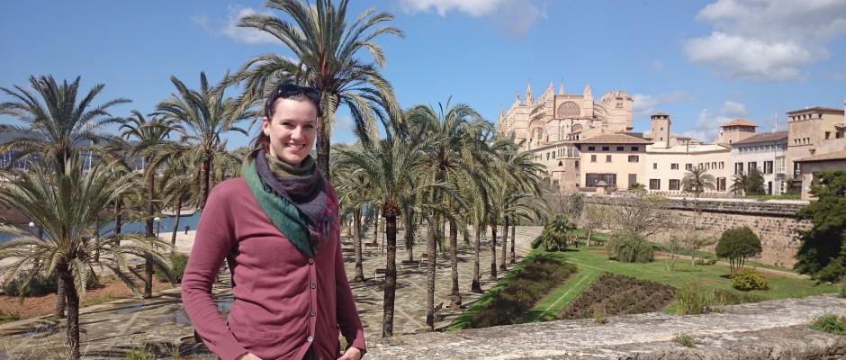 Catharina Lane auf Mallorca