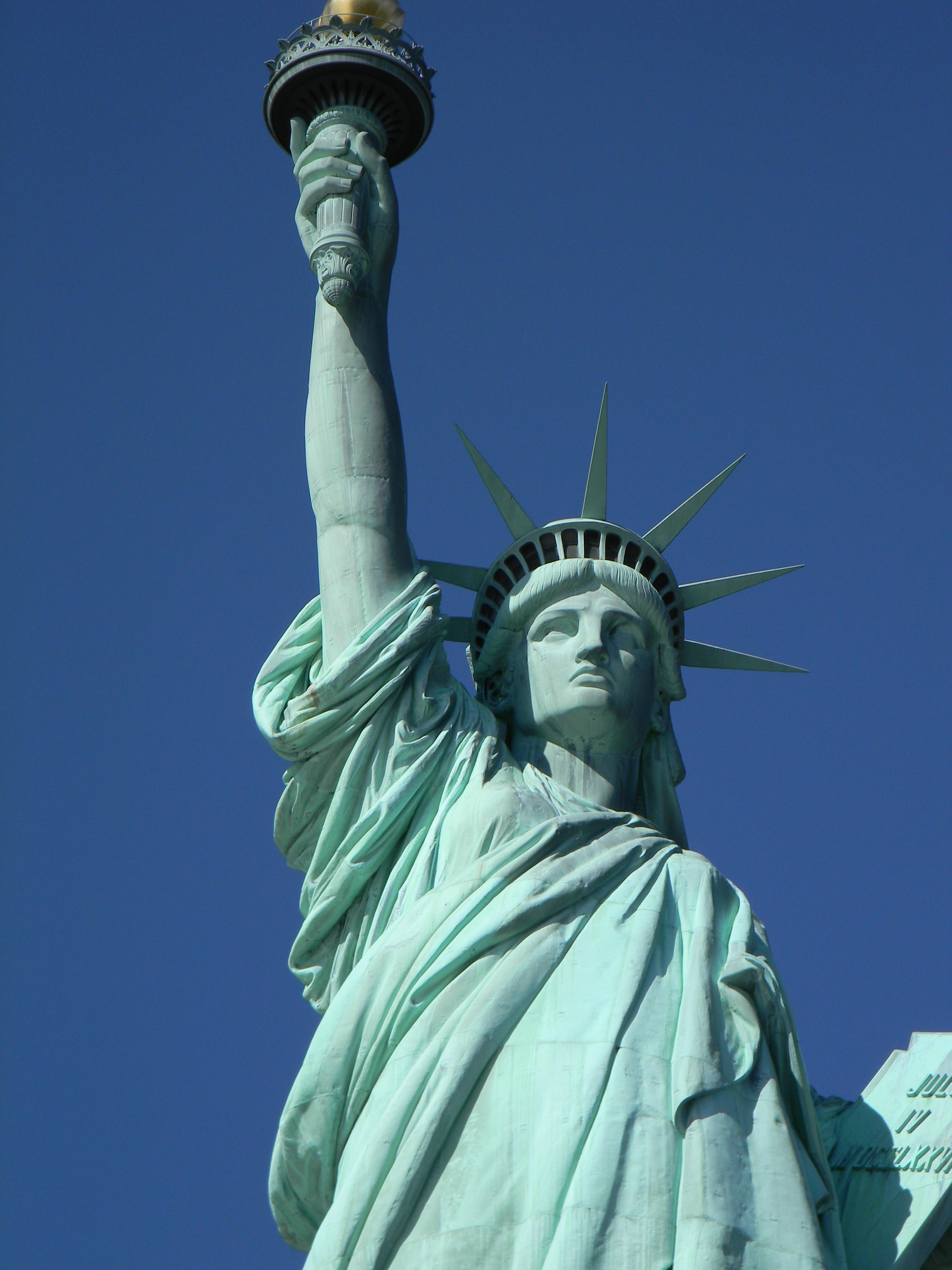 USA Freiheitsstatue auf Liberty Island