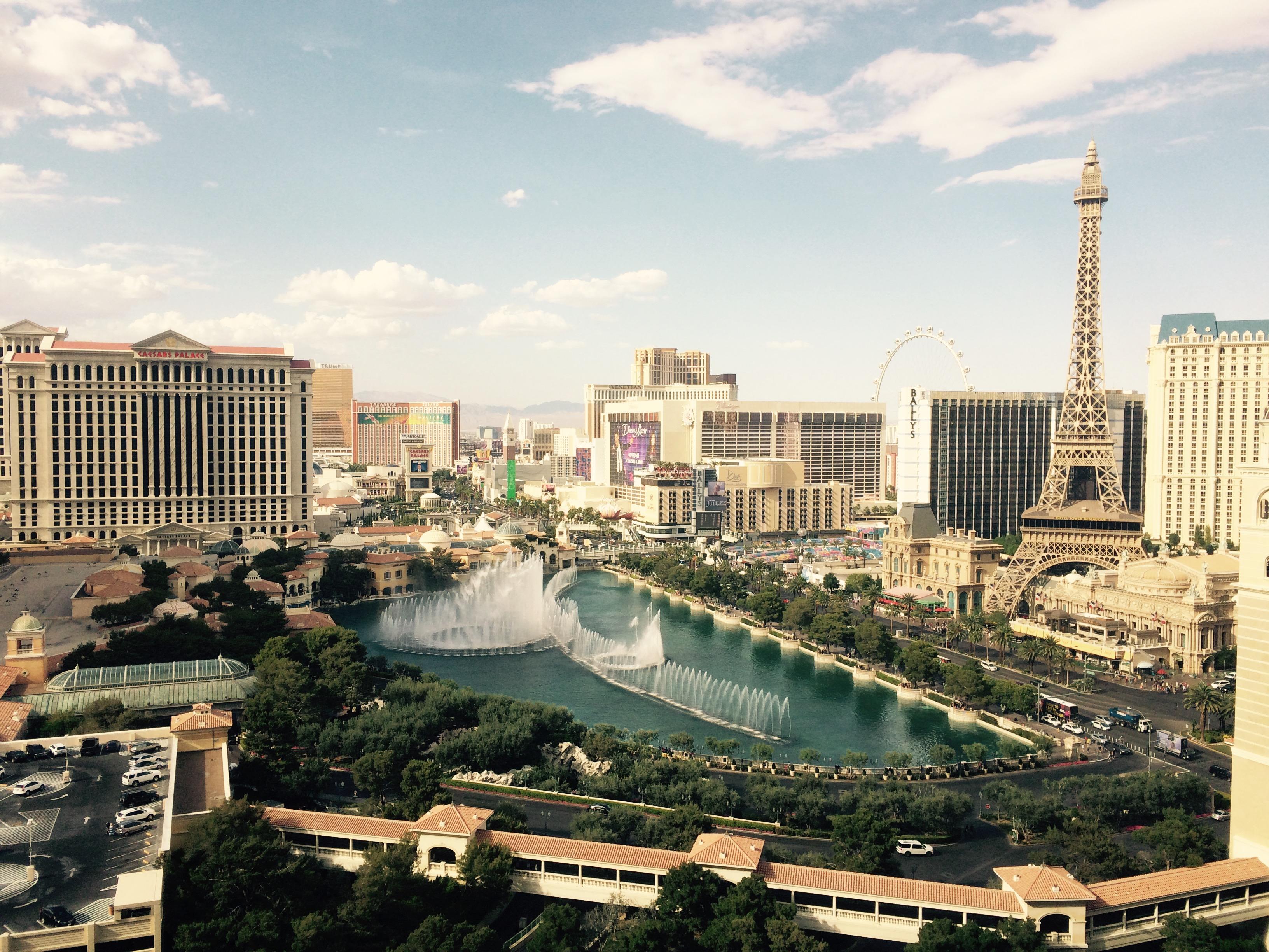 Der Las Vegas Strip von oben