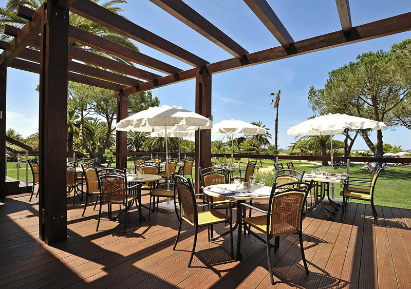 Terrasse des Restaurants in Portugal Hotel Pestana