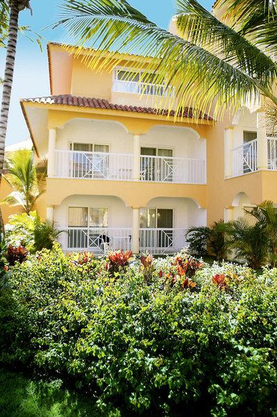 Der Aussenbereich im Tangerine Hotel