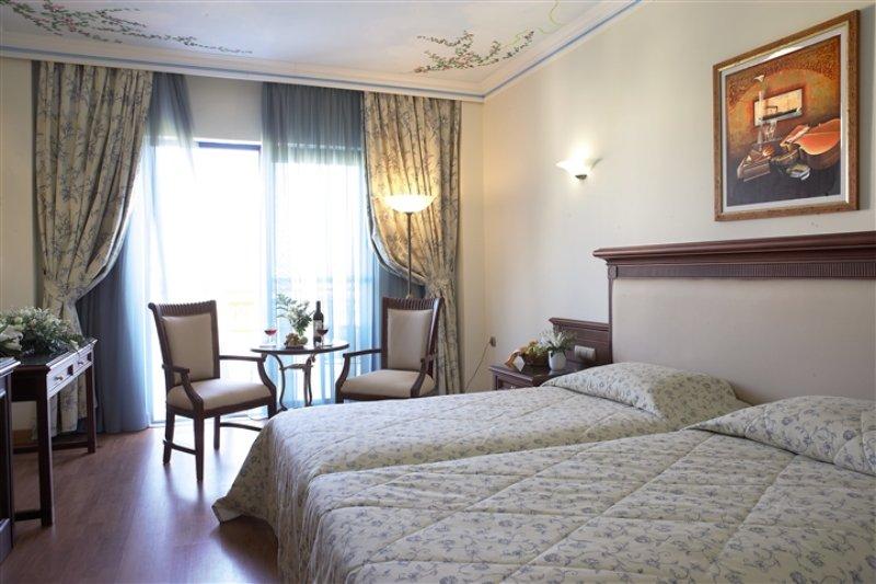 Zimmer im Atrium Palace Hotel auf Rhodos