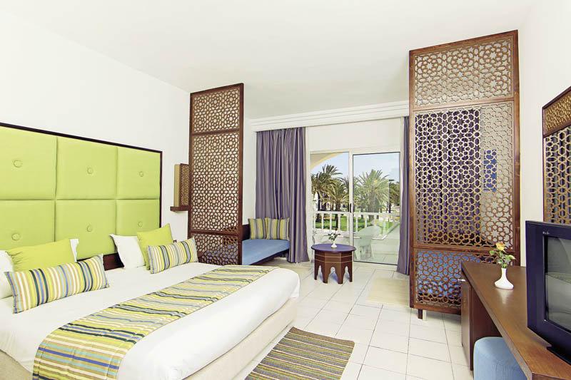 Zimmer im Hotel Rosa Rivage in Tunesien