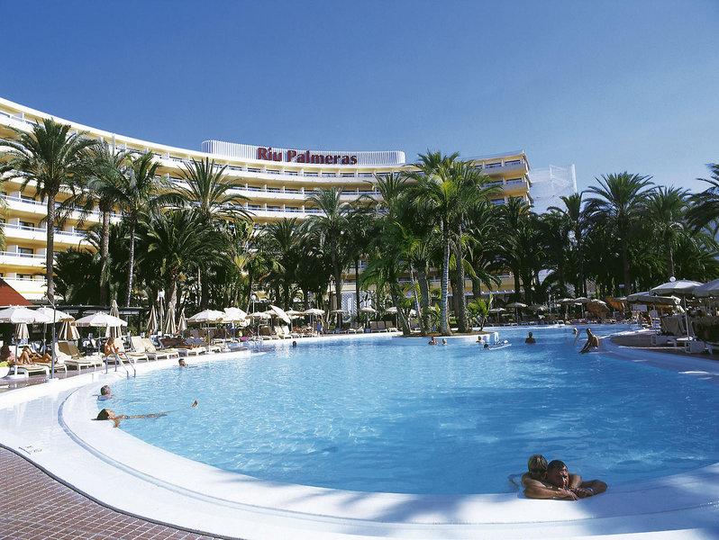 Hotel RIU Palmeras mit Pool auf Gran Canaria