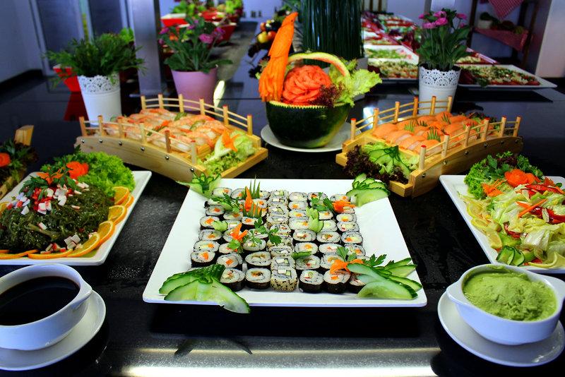 Sushi im Taurito Princess Restaurtant