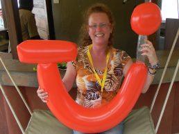 Wilma in Afrika