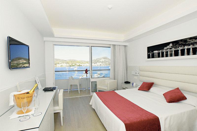 Zimmer im Hotel Argos auf Ibiza
