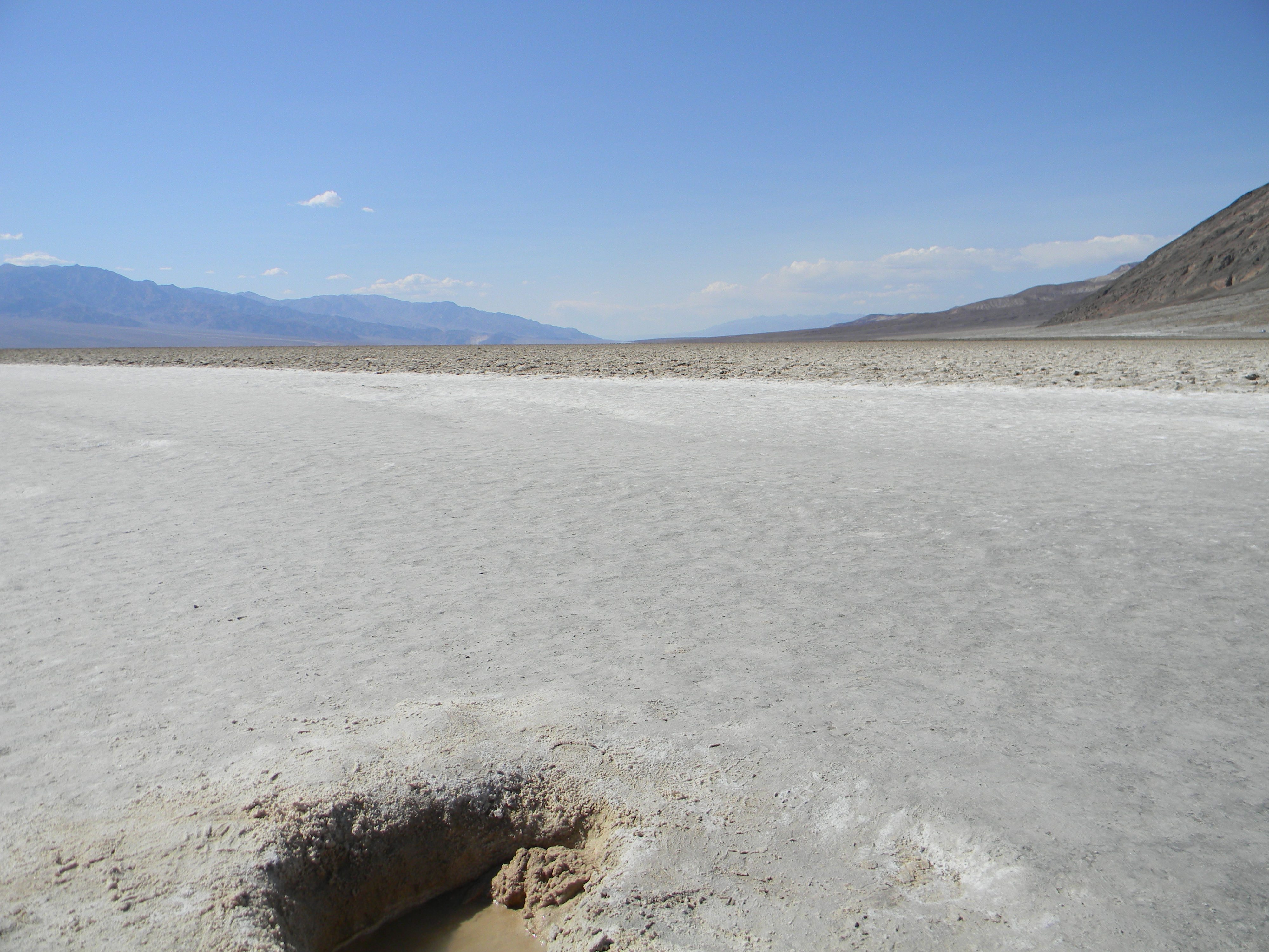 Badwater Basin im Death Valley Nationalpark