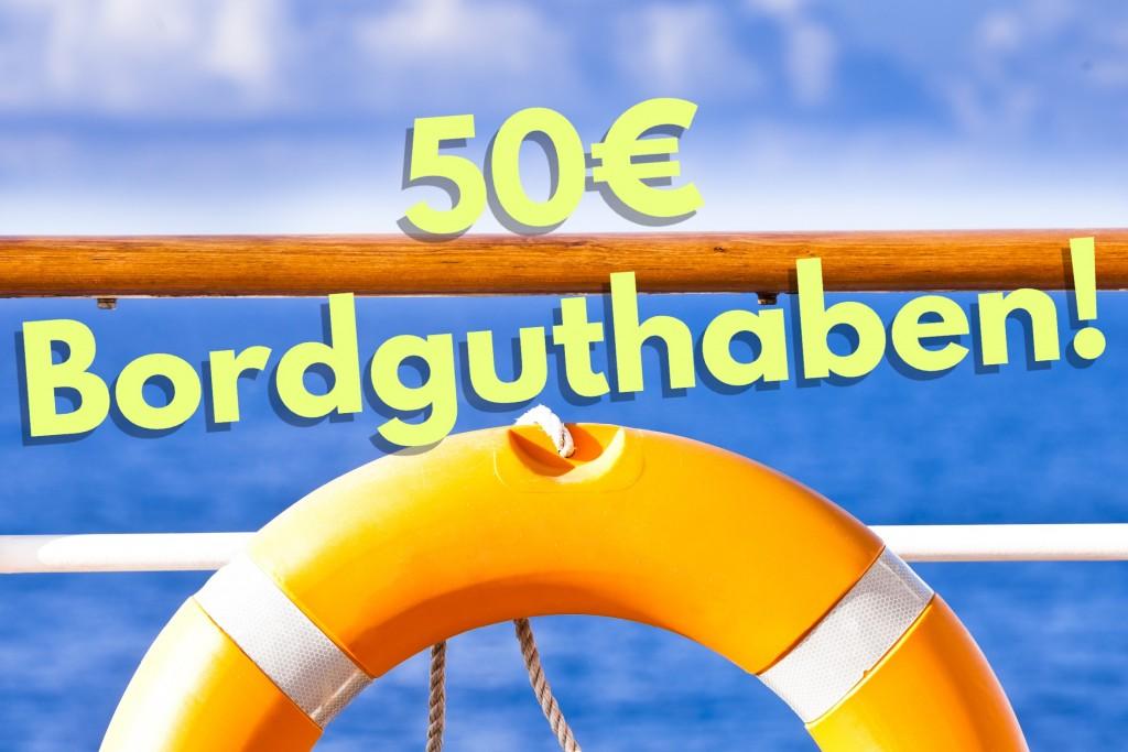50 Euro Bordguthaben