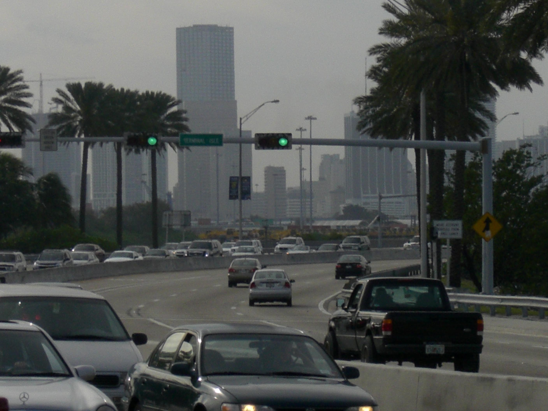 Die Straßen von Miami
