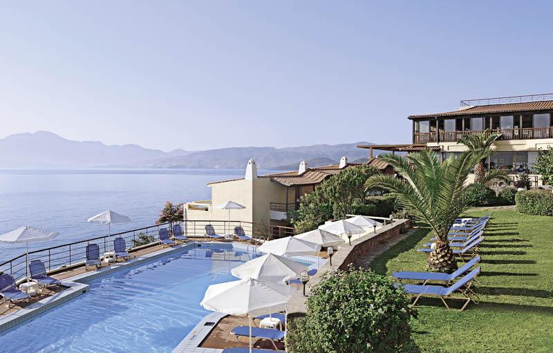Miramare Hotel auf Kreta