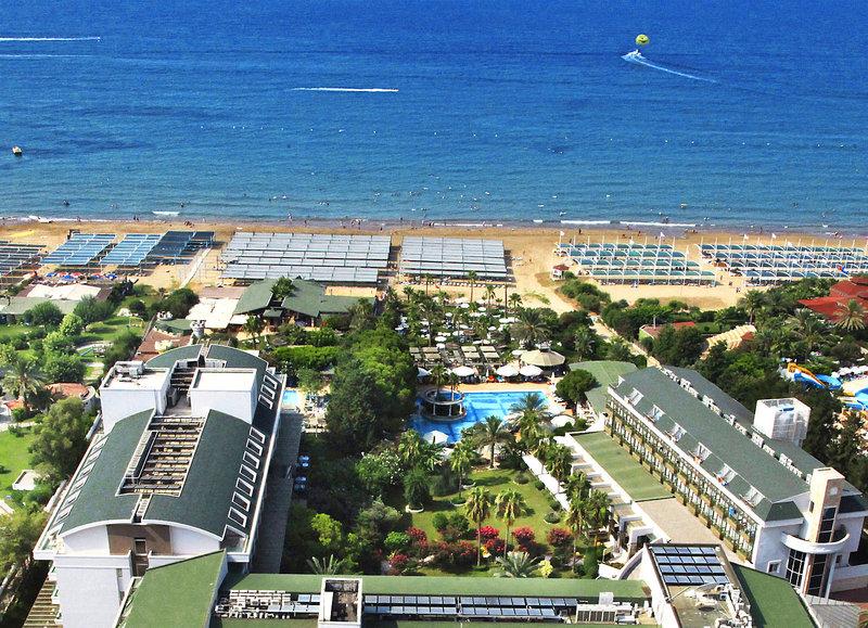 Strand am Hotel Oleander