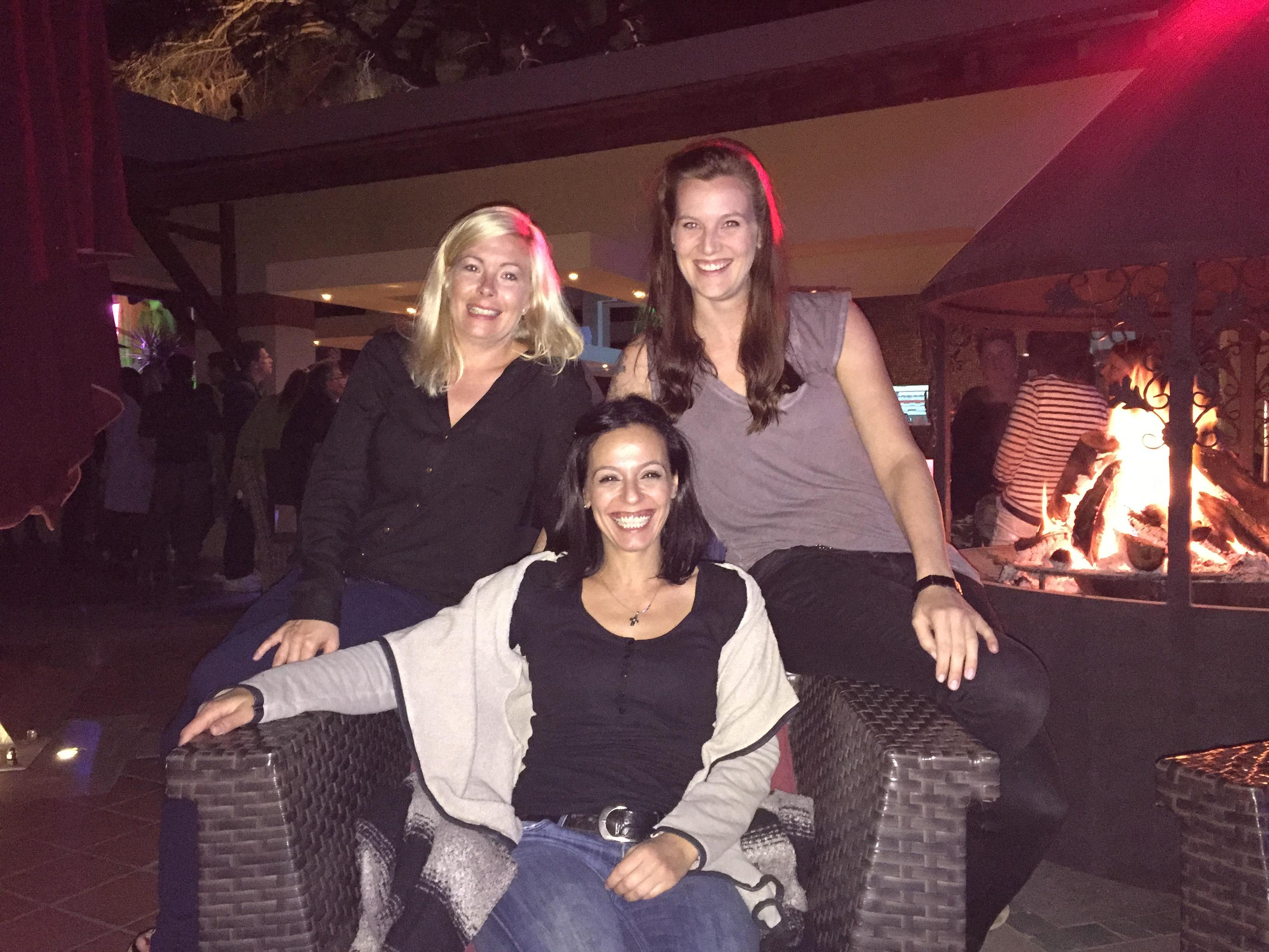 Elena, Catharina und Manon im Robinson Club