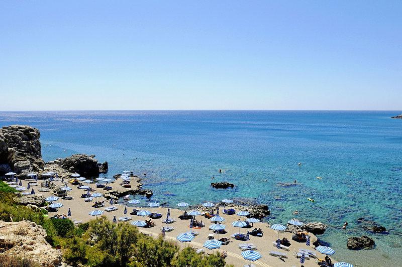 Strand auf Rhodos