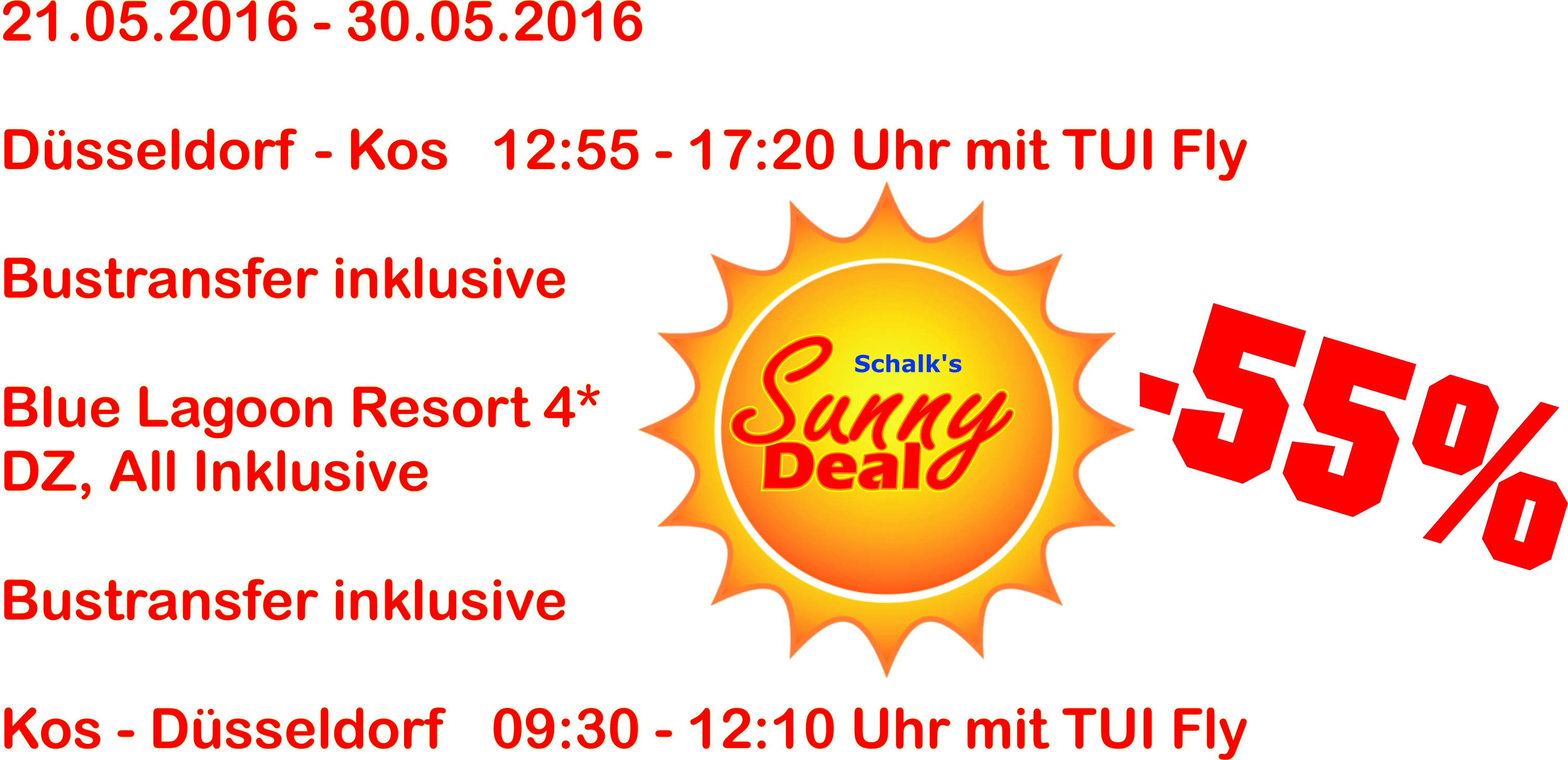 Sunny Deal Angebot aktuell 2