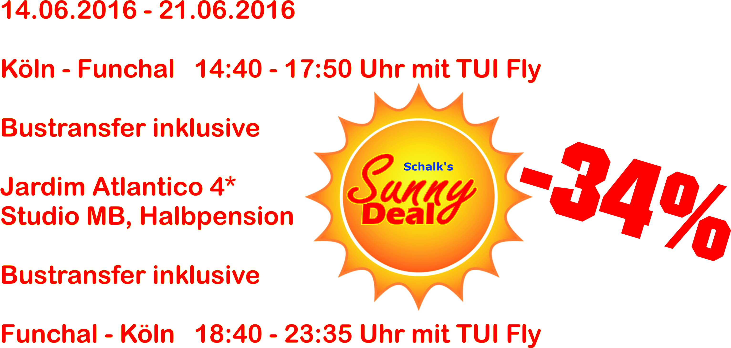Sunny Deal Angebot aktuell FNC