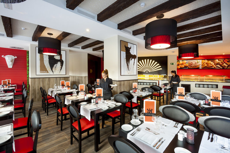 Restaurant im RIU Clubhotel Papayas