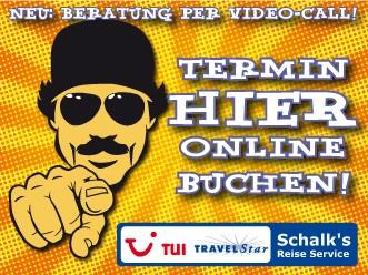 Online Termin vereinbaren auch mit Video Call